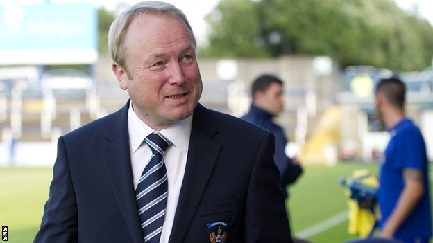 Kilmarnock chairman Michael Johnston
