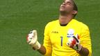 Honduras goalkeeper Jose Mendoza