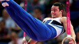 Kristian Thomas in action on the rings