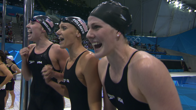 USA 4x200m freestyle relay team