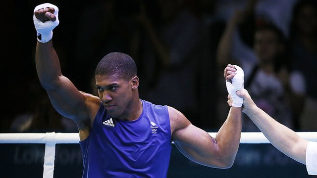 GB&#039;s Anthony Joshua