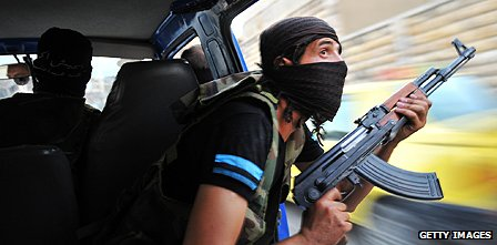 Syrian rebel hunts for pro-government snipers