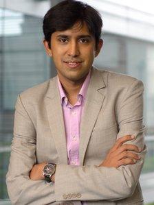 Website entrepreneur Ruchir Punjabi
