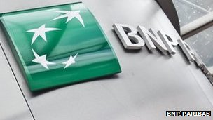 BNP Paribas sign