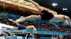 Michael Phelps and Milorad Cavic