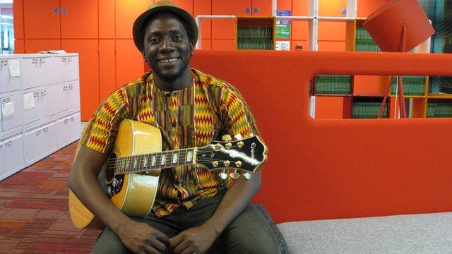 Leo Mkanyia   Photo: Manuel Toledo, BBC Africa