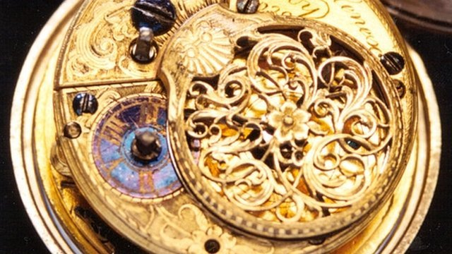 A 1760 pocket watch stolen from Derby&#039;s museums service