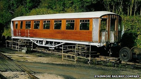1930&#039;s passenger coach No.60505