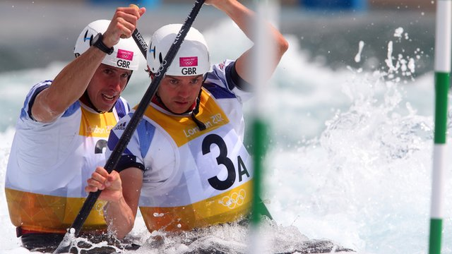 Great Britain's Tim Baille and Etienne Stott
