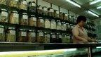A Chinese medicine shop