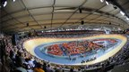The state-of-the-art Velodrome on the Olympic Park site saw its first taste of competitive action at London 2012 as the Games' cycling programme got under way in the afternoon.