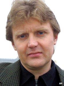 Alexander Litvinenko in 2002