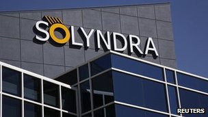 Solyndra headquarters in California