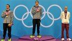 Michael Phelps, Ryan Lochte, Laszlo Cseh