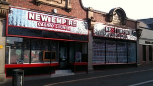 The New Empire amusement arcade in Swadlincote