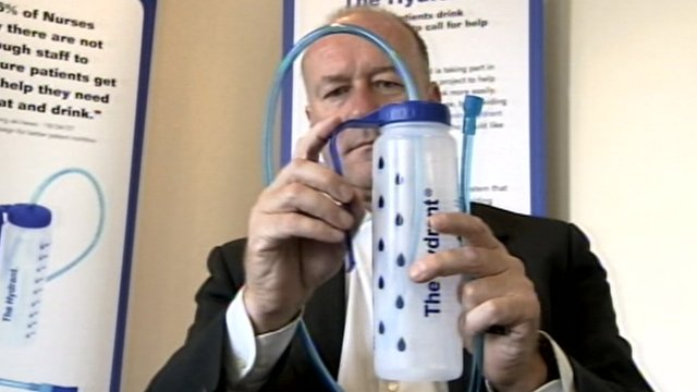 Bristol man's water bottle invention in hospital trial