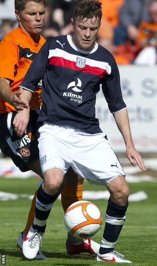 Nicky Riley faces SPL rivals Dundee United during a pre-season friendly