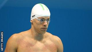 Brazilian swimmer Cesar Cielo