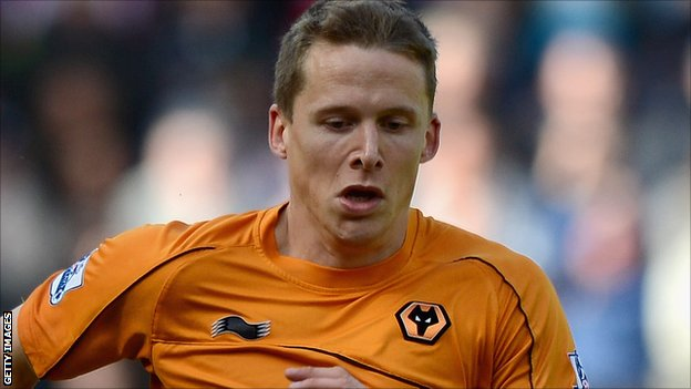 Wolves defender Christophe Berra