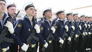 Russian marines - file pic