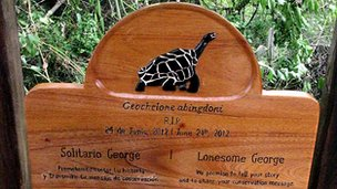 Lonesome George memorial