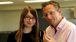 Dr Krista Varady with Michael Mosley