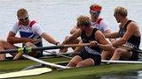 GB men's pair rowing team