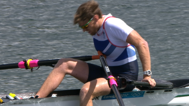 GB's rower Alan Campbell
