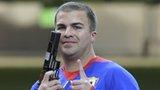 Gold medalist Leuris Pupo