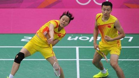 Zhao Yunlei (left) and Zhang Nan (right)
