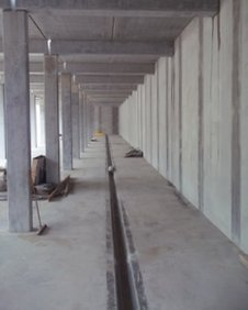 Inside the unfinished reservoir