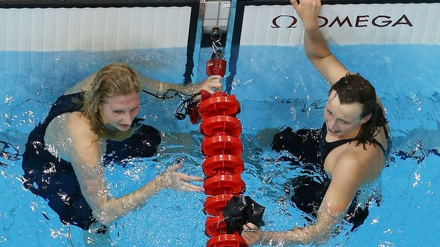 Rebecca Adlington Katie Ledecky