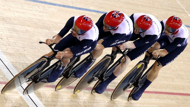 Great Britain&#039;s men&#039;s team pursuit