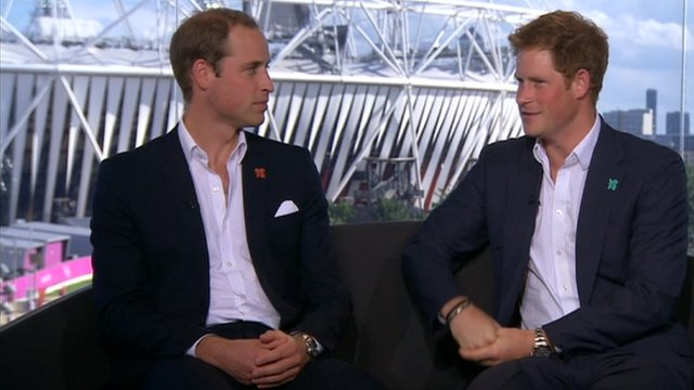 Princes William and Harry