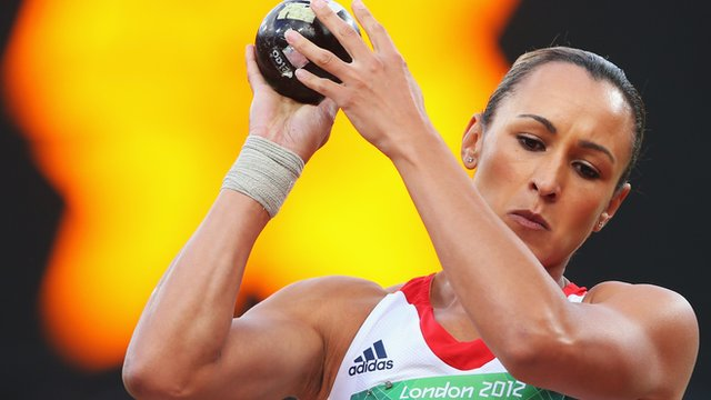 Great Britain heptathlete Jessica Ennis