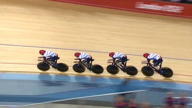 Team GB cycling team pursuit