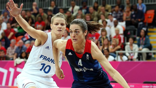 Women's basketball: France v Great Britain