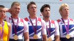 GB men's four Alex Gregory, Pete Reed,Tom James and Andy Triggs Hodge