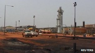Heglig oil field