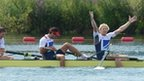 GB win gold in the men's four at London 2012