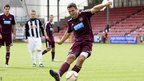 Hearts striker John Sutton