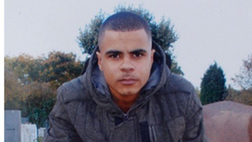 Pictured Mark Duggan