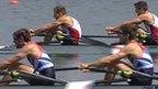 Great Britain's Zac Purchase and Mark Hunter