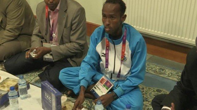 Mohammed Mohammed, Somali 1500m runner