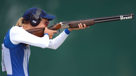 Bbc Sport London 2012 Olympics Women S Trap Shooting