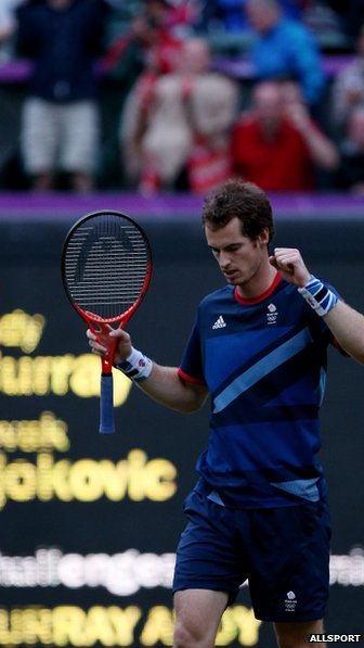 Andy Murray, after his victory against Novak Djokovic