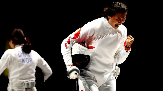China defeat South Korea in team epee final