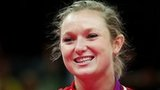 Rosie MacLennan wins gold