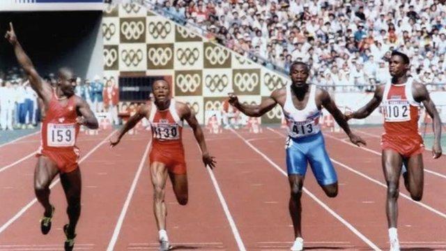 100m athletes