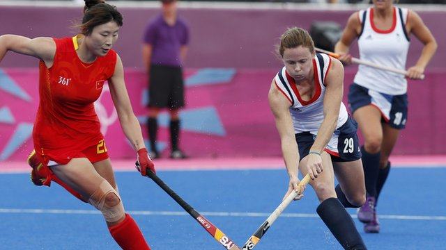 GB women&#039;s hockey team lose to China